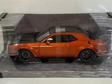 SOLIDO 1/18 Dodge Challenger SRT Hellcat Redeye 2020 Orange MET Black 1805703