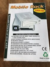 """Mobile Rack DMA100 Beand New In Box White Removable Frame For 3.5"""" And 2.5"""" HDD"""
