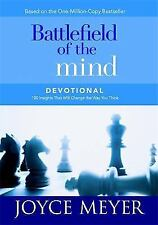 Battlefield of the Mind Devotional Christian Hardcover by Joyce Meyer FREE SHIP