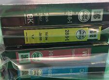 NEW Epson 288 Black/Tri-Color ink Cartridges-Genuine for Espon Home XP-434 330