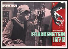 CINEMA-fotobusta FRANKENSTEIN 1970 karloff,duggan,lund,barry,KOCH