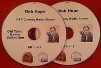 Bob Hope OTR 115 Comedy Old Time Radio Shows on 2 MP3 CDs