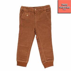 BARNUM Corduroy Trousers Size 12-18M / 80-86CM Stretch Adjustable Waist Cuffed
