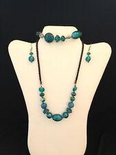 Blue Murano Glass Jewelry Set