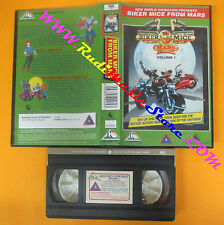 VHS film BIKER MICE FROM MARS volume 1 animazione NU METRO inglese (F140) no dvd