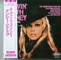 NANCY SINATRA-MOVIN' WITH NANCY-JAPAN MINI LP CD BONUS TRACK C94