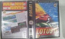 Lotus II 2 Sega Genesis / Mega Drive Game Boxed PAL Version