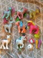 My Little Pony 1980 S VINTAGE JOB LOT Bundle Filles Jouets G1 Brosse chat