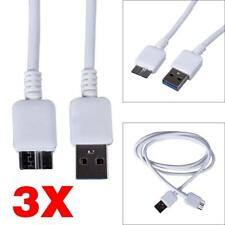 3 x USB 3.0 Cable Cord for Seagate FreeAgent GoFlex Desk External Hard Drive