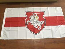 Belarus White Knight Pagonya Flag 150x90cm