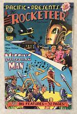 The Rocketeer #1 and Steve Ditko's Missing Man Comics Dave Stevens VF