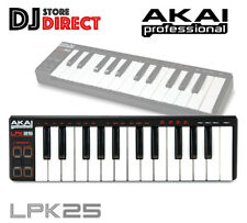 Akai LPK25 | 25-key Ultra-portable USB Midi Keyboard Controller for Laptops