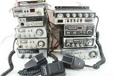 9 Vintage Cb Radio Lot w/ Microphones Cobra 21 19Gtl 19 Plus Midland Realistic