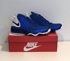 NIKE AIR MAX WAVY Basketball Shoes SIZE 11 Game Royal / White BLUE AV8061 400