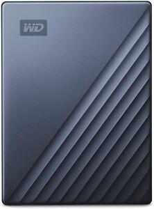 Western Digital WD 4TB My Passport Ultra USB Type-C External Hard Drive Blue