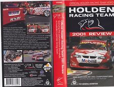 HOLDEN RACING TEAM 2001 REVIEW  VHS VIDEO PAL~ A RARE FIND