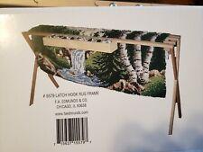 New Frank Edmunds & Co. Hardwood Latch Hook Frame Tool