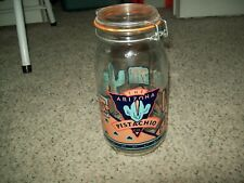 3ef677a1bb2 Rare Decorated Vintage Le Parfait 2L Glass Canning Jar w  Seal Catcus  Southwest