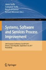 Systems, Software and Services Process Improvem, Stolfa, Jakub,,