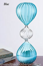 Decorative Hourglass 30 Minute Sand Timer -Blue