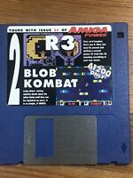 Amiga Power Magazine cover disk 54 R3 Blob Kombat TESTED WORKING
