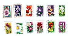 Serie complete timbres obliteres Dites-le avec des fleurs - 2012