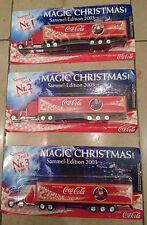Coca-Cola-Sattelschlepper, LKW, Weihnachtsmotiv, Sammleredition 2003, Spielzeug