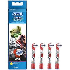 4 Oral B Stages Power Star Wars Enfants Brossettes de rechange Brosses OralB