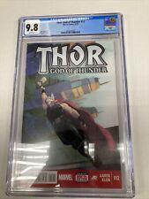 Marvel Comics Thor God Of Thunder 12 CGC Graded 9.8