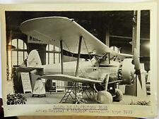 "AVION BRISTOL ""BULDOG"" TYPE 1933 Photo originale G. DEVRED (Agence ROL) 1932"