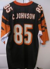 NFL Cincinnati Bengals #85 Chad Johnson Replica Jersey XL Ochocinco