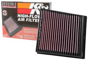 K&N Drop In Air Filter 2017-18 Chevrolet Silverado GMC Sierra 2500HD 3500HD 6.6L