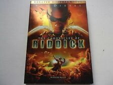 The Chronicles of Riddick. Vin Diesel. Unrated Director's Cut. New Dvd sealed