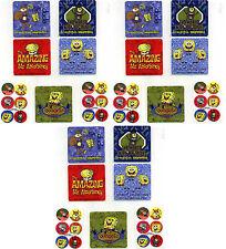 SPONGEBOB Squarepants Stickers! 21 LARGE Stickers! Sandy Plankton Patrick