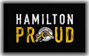 Hamilton Tiger-Cats Football Team PROUD Flag 90x150cm 3x5ft Fan Best Banner