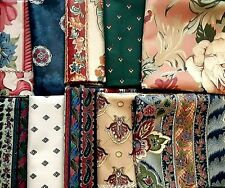Thick Cut Fabric for Quilting or Crafts, Mixed Patterns & Colors, Ten Count