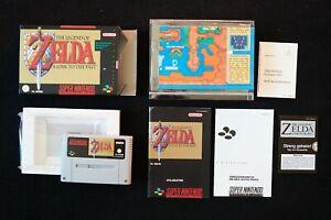 Zelda A Link to the Past Super Nintendo SNES CIB PAL OVP ,Streng Geheim noch zu!
