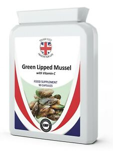 Green Lipped Mussel 500mg 90 Capsules - Private/White Label Tough 1157