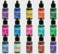 Tim Holtz Alcohol Ink 15 Color Bundle Newest release Ranger Lot
