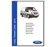 Ford Transit 2006 - 2013 Workshop Manual