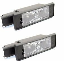 NEW OEM CITROEN C3 A51 DS3 DS5 PEUGEOT 508 3008 2009- License Plate Lights Pair