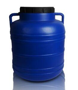 Fass Kunststofffass 40L Tonne Lebensmittelfass Regenfass Sauerkrautfass Wasser
