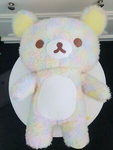 Dreamy Marble Rainbow Rilakkuma Marbled Plush Japan Toreba