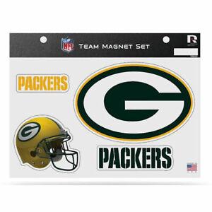 NFL Green Bay Packers Team Magnet Set