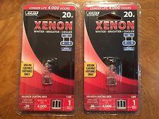 Feit Electric Xenon Halogen 20 Watt 120 Volt G8 Base Light Bulb 2 Packages