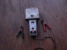 VINTAGE DWELL POINTS TACK METER (FRONT COVER CRACKED)