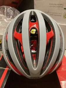 ! Bell Z20 MIPS Medium Cycling Bike Bicycle Helmet Matte Gloss Red/Grey