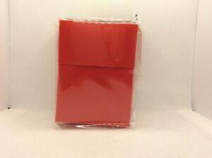 Ultra Pro Deck Box Red. New. B3G1 Free!
