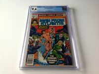 MAN FROM ATLANTIS 2 CGC 9.6 WHITE PAGES NBC TV PATRICK DUFFY MARVEL COMICS