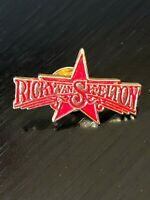 Collectible Vintage Ricky Van Shelton Colorful Metal Pinback Hat Pin Lapel Pin